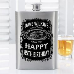 Personalized Drinkware, Barware Accessories Personalization Mall Hi Here we have best photo about personalized barware. We hope these phot. Whisky, Whiskey Label, Whiskey Bottle, Personalized Birthday Gifts, Personalized Labels, Beer Gifts, 80th Birthday, Groomsman Gifts, Whiskey