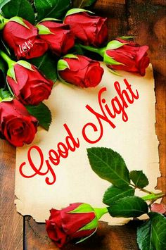 Frame with red roses and vintage paper Good Night Quotes, Good Morning Good Night, Walpapers Iphone, Love You Gif, Night Messages, Rose Frame, Morning Greeting, Writing Paper, Morning Images