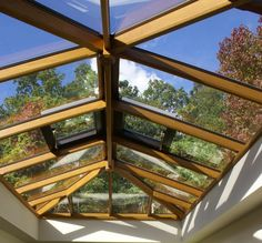 A hardwood roof lantern designed and manufactured by Country Hardwood in the UK