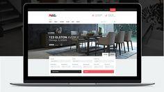 Wordpress theme para real estate website