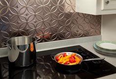 aluminum peel and stick backsplash | Kitchen Backsplash Project Kits From BacksplashIdeas.com Offer ...
