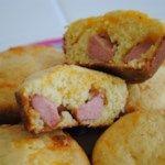 Corn Dog Muffins Rezept und Video - Easy recipes for kids to make - - Essen und Trinken Jiffy Cornbread, Cornbread Muffins, Savory Muffins, Corn Dog Muffins, Toddler Muffins, Dog Muffin Recipe, Muffin Recipes, Easy Recipes, Supper Recipes