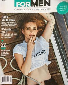 "Páči sa mi to: 1,368, komentáre: 21 – Hana Vagnerová (@iamhanavagnerova) na Instagrame: ""Cover for ForMen right now check it out😊😊😊😊#photoshooting #actress #hanavagnerova #boat #cover…"""