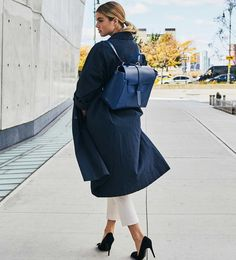 SENREVE Maestra - Medium Convertible Leather Bag - 100% made in Italy