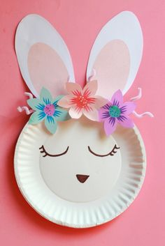 It s no secret that in this house we love making Easter crafts We especially love super cute bunny crafts Today we made this adorable bunny using a paper plate We made him or her extra Easy Easter Crafts, Daycare Crafts, Easter Art, Easter Crafts For Kids, Toddler Crafts, Easter Bunny, Easy Crafts, Simple Paper Crafts, Easy Diy