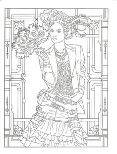 Стимпанк | Adult coloring pages | Adult coloring pages, Coloring ...