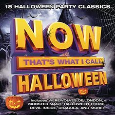 As part of their holiday-themed compilation series, the folks at Now! Music roll out Now That's What I Call Halloween, an 18-track set full of occasionally spooky, yet mostly playful tracks ranging fr
