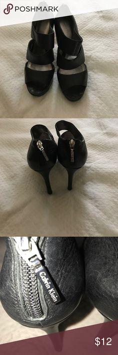 Black Calvin Klein Heels Pre-owned Calvin Klein heels. Calvin Klein Shoes Heels
