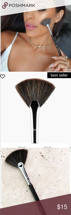 Sigma Beauty F42 Strobing Fan Brush New in box.  Plastic seal has not been broken.  Sigma Beauty exclusive F42 strobing fan brush.  A highlight staple!  Soft, dense fanned brush head.  BEST SELLER! Sigma Beauty Makeup Brushes & Tools