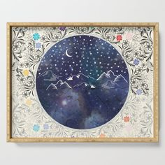 2 x 3 Floor Mat Kess InHouse Famenxt Tribal Night Arrows Jungle Blue Digital Decorative Door