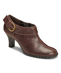 Another great find on #zulily! Brown Slember Party Bootie by A2 by Aerosoles #zulilyfinds