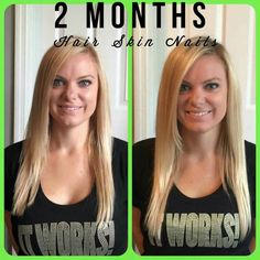 Longer,  stronger hair!  Check out  Hair Skin and Nails at www.meghansmagicwraps.com.