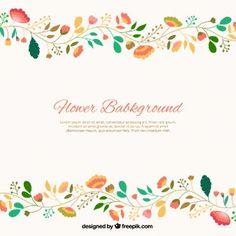 かわいい花の背景