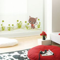 Cat Wall Stickers for Children. $8.99
