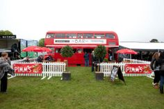 Red Bus Bar - Food & Drink Stalls
