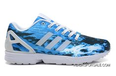 sports shoes 3db63 6e1f0 Adidas Zx Flux Women Ocean Blue Online, Price   77.38 - Adidas Shoes Online  Store