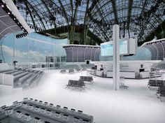 The Six Most Elaborate Fashion Sets - Chanel-Wmag