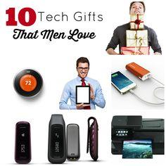 10 tech gifts men will love!