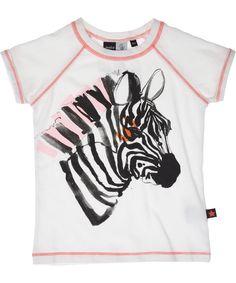 Molo ARTistieke zomer t-shirt met zebra print. molo.nl.emilea.be