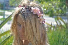 Flower Crown Rustic Wedding Bridal Crown by ShepherdoftheSea, $35.00