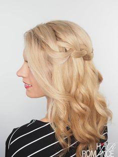 Cascada trenza video tutorial + la corrección para el cabello seco, dañado //  #cabello #cascada #corrección #dañado #para #Seco #trenza #Tutorial #vídeo