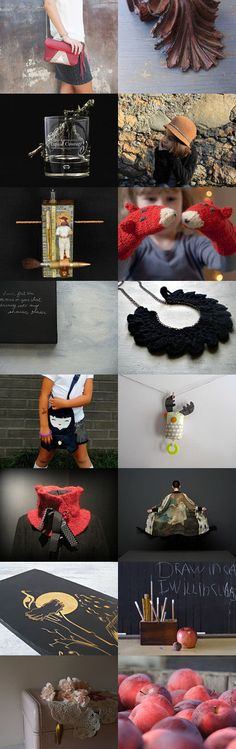 red darkness by Paola PA.BU on Etsy--Pinned with TreasuryPin.com