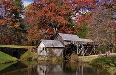 Mabry Mill in Meadows of Dan, VA