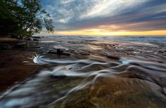 Pictured Rocks National Lakeshore Alger County | pictured rocks national lakeshore alger county michigan wallpapers and ...
