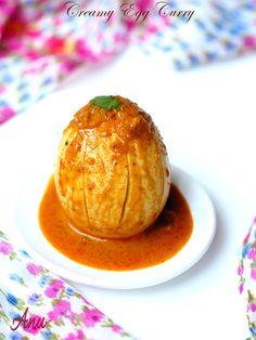 Malai Egg Curry | Creamy Egg Gravy