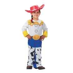Jesse Classic Child - Size: - - The Child Toy Story Jessie Costume is a great movie costume for your little girl, bringing this animated smash-hit to fun new life! If you want to choose pop culture flai Jessie Halloween Costume, Jessie Toy Story Costume, Jessie Costumes, Toy Story Costumes, Funny Costumes, Toddler Costumes, Halloween Costumes For Girls, Girl Costumes, Adult Costumes