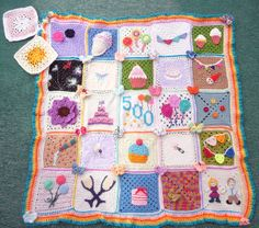 A wonderful charitable project for crocheting blankets for the elderly.