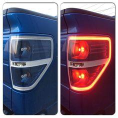 Honda Ridgeline tail light - custom  http://mulpix.com/instagram/retrofit_lights.html