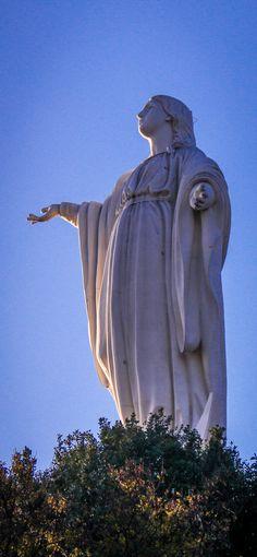 Santuario de la Inmaculada Concepción Chile, Statue Of Liberty, Catholic, Urban, Photography, Cute, Places, Statue Of Liberty Facts, Photograph