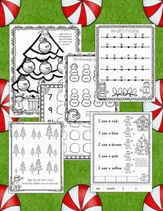 Help! Santa is stuck.... This is a new craft that I will be doing with my kinders before...