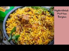 "Straight from the land of Nizams, Hyderabadi Mutton Biryani or Kacche Gosht ki Biryani is a regal dish that does not need any special mention or patronage. Though many prefer eating it with raita, salad; the original ""zayka"" of this mutton biryani lies in savouring every nibble of it as it is. Here is a video recipe."