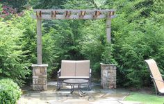 """Unique Outdoor Concepts can design any outdoor environment into your own """"personal piece of paradise!"""" This is just one example of the work we do."""