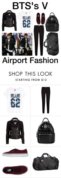 """""""BTS's V ~ Airport Fashion 