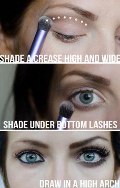 tricks to makes eyes look bigger