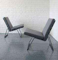 William Plunkett; 'Westerham' Easy Chairs for Plunkett Furniture,1968.