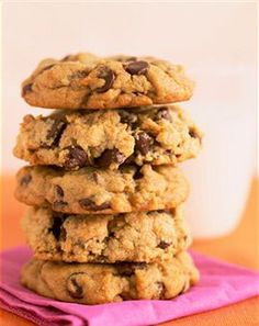 Chewy Oatmeal Chocolate Chip Cookies Recipe (uses coconut oil instead of butter).