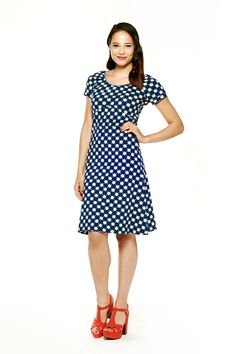 Tante Betsy dress Sophie Dark Blue