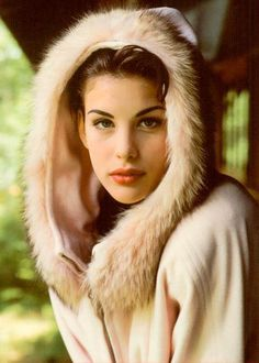 Liv Tyler. I think she is the most beautiful woman of all time.