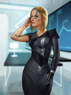 Milia Endorovna, chief ingineer of the Space Ship Development Plant of Ebora