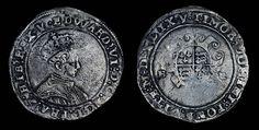 Tudor English Antique Coin Genuine Edward VI Solid Silver Shilling 1551, British, English