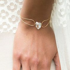 rock crystal bracelet <3