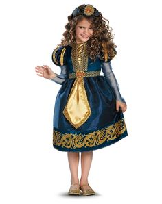 Disney Brave Merida Sparkle Girls Costume from Spirit Halloween on Catalog Spree, my personal digital mall.
