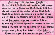 verjaarsdag wense vir my dogter - Google Search Happy Birthday Quotes For Daughter, Daughter Quotes, Afrikaanse Quotes, Google Search, Martha Stewart