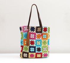 Bolsa de crochê  Chria Handmade Art Brasil www.chria.com.br
