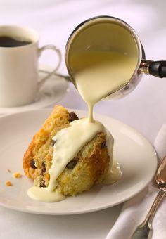 Bread Pudding with Irish Whiskey Sauce