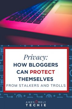 Privacy: How Blogger